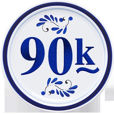 90k Mi Fans en México