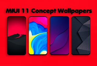 Weekly Wallpapers 20 Miui 11 Concept Minimalist Iphone