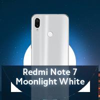 ضوء القمر الأبيض