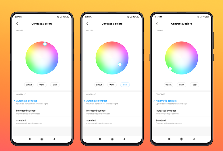 [MIUI Tips & Tricks #13] How to Change Color & Contrast of Display On Your Mi Phones?