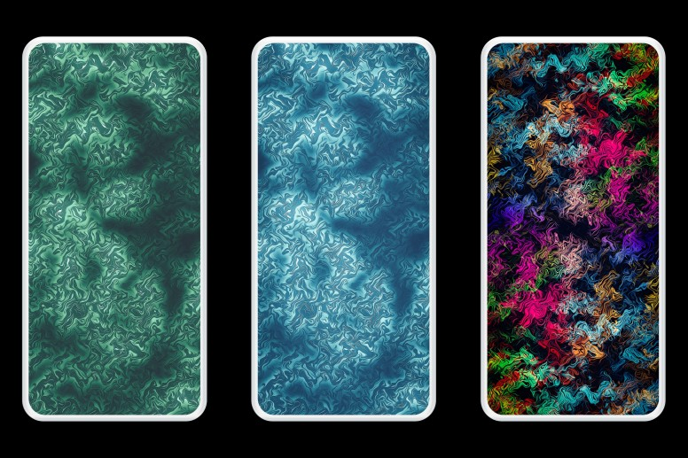Weekly Wallpapers 23 Iphone 11 Abstract Pattern Gradient
