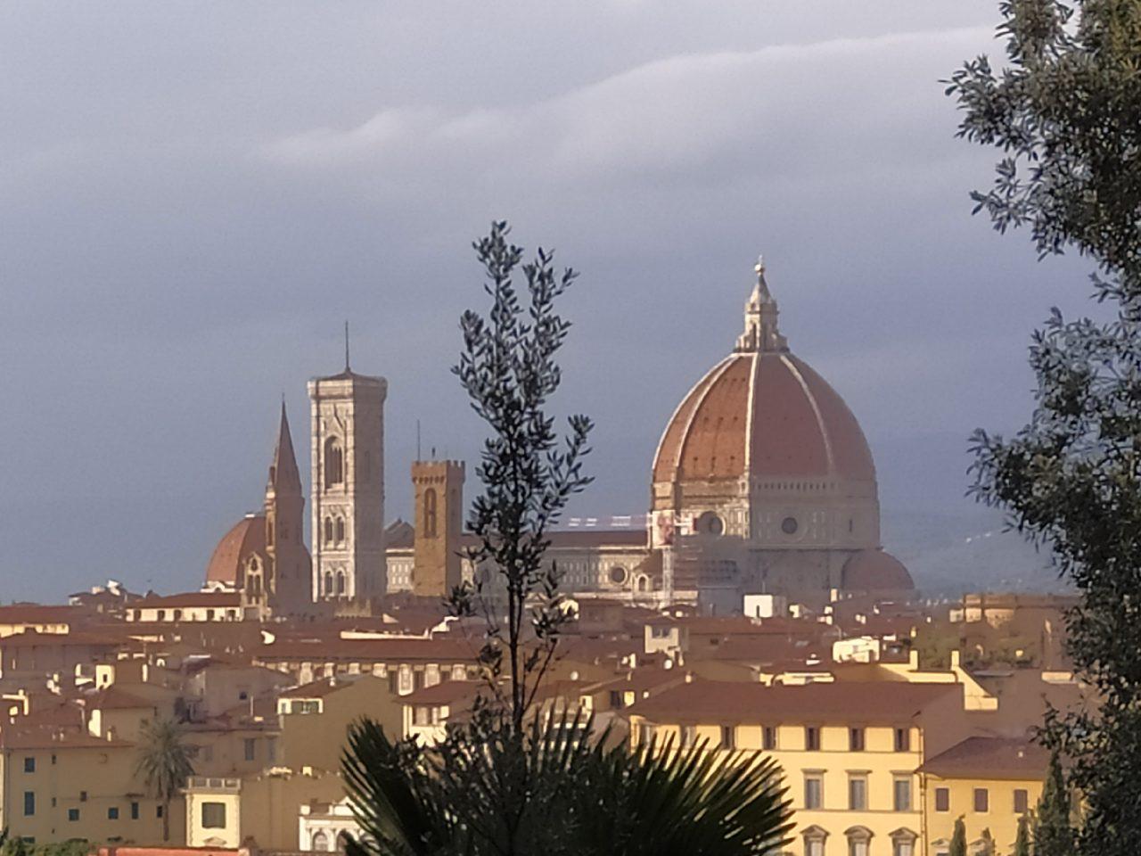 Firenze Scattata Da Terrazza Michelangelo Con Zoom