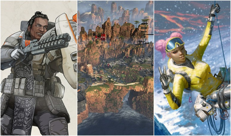 Mi Resources Team Apex Legends Game Wallpapers Collection