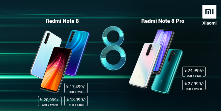 Redmi Note 8 Pro And Redmi Note 8 Launched Specs Price