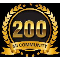 ¡Medalla de 200K!