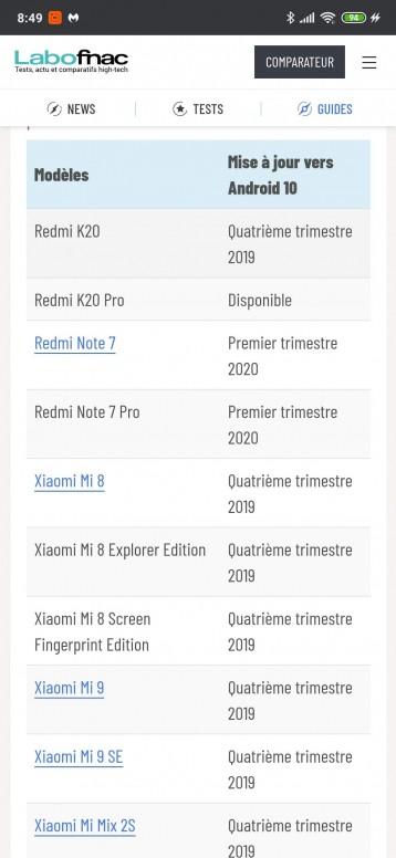 Mise A Jour Android 10 Miui General Mi Community Xiaomi