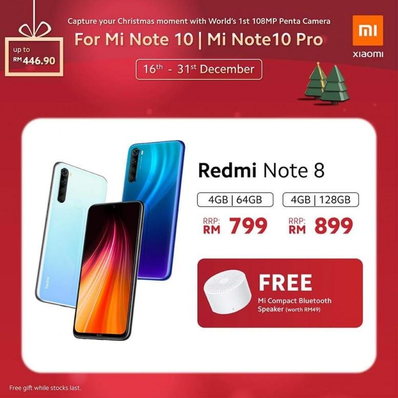 小米手机 2019 圣诞优惠,节省超过 RM400,同时还有送奖游戏送出一亿像素小米 Note 10! 13