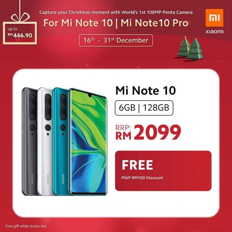 小米手机 2019 圣诞优惠,节省超过 RM400,同时还有送奖游戏送出一亿像素小米 Note 10! 3