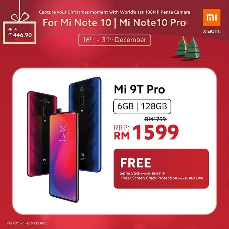 小米手机 2019 圣诞优惠,节省超过 RM400,同时还有送奖游戏送出一亿像素小米 Note 10! 7