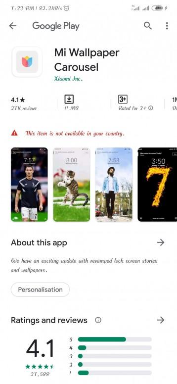 Mi Wallpaper Carousel Miui Tools Mi Community Xiaomi