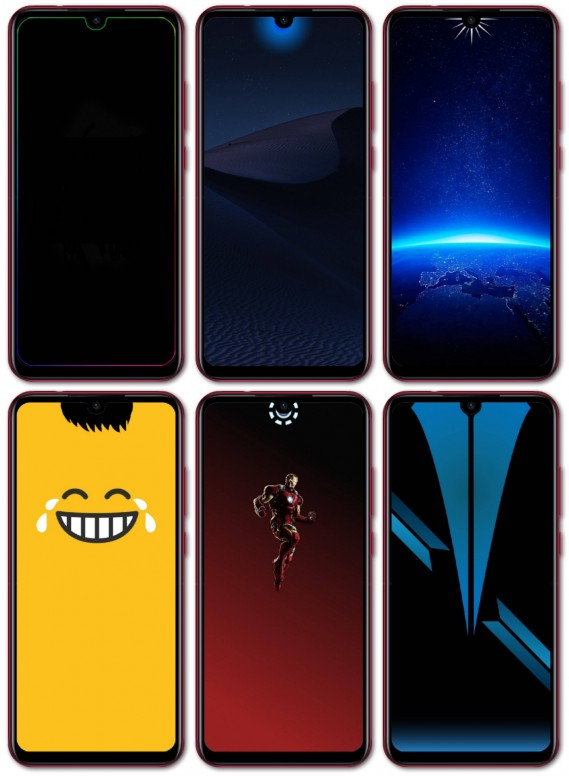 Download Dot Notch Wallpapers For Redmi Series Resources Mi Community Xiaomi