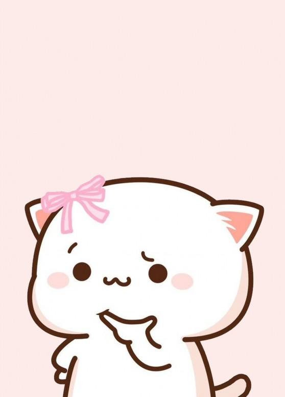 Beautiful Kawaii And Cute Cat Wallpaper Wallpaper Mi Community Xiaomi
