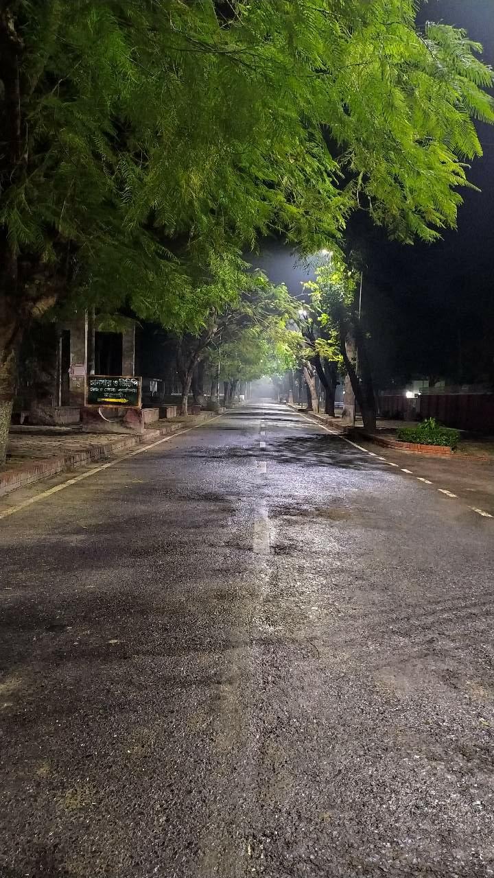 Midnight Alone Road Photography Mi Community Xiaomi