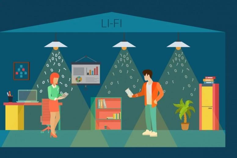 Wi-Fi' dan 100 kat daha hızlı olan Li-Fi nedir?