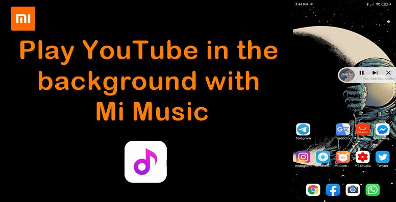 So You Can Play Youtube Music In The Background On Your Xiaomi Without Having Youtube Premium Tips And Tricks Mi Community Xiaomi